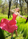 Adorable Summer Young Woman In...