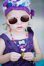 Adorable toddler girl Royalty Free Stock Photo