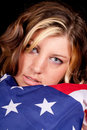 Adoring Αμερική Στοκ φωτογραφία με δικαίωμα ελεύθερης χρήσης