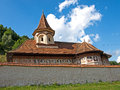 Adormirea maicii domnului church from cheia village from romania Royalty Free Stock Photos