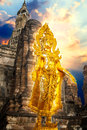 Adorned Standing Buddha Royalty Free Stock Photo