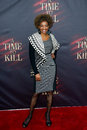 Adriane lenox new york oct actress attends the broadway opening night of a time to kill at the golden theatre on october in new Royalty Free Stock Image