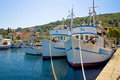 Adriatic fishermen village of Kali Royalty Free Stock Photo