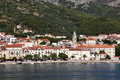 Adriatic resort town Makarska Royalty Free Stock Photos