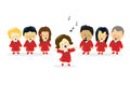 Adult Choir Royalty Free Stock Photo