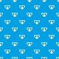 Adult diapers pattern seamless blue