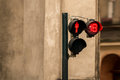 Adults only traffic lights metaphore Royalty Free Stock Photo