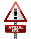Advance fee fraud concept Royalty Free Stock Photos