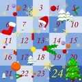 Advent calendar Royalty Free Stock Photography