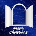Advent Calendar Doors opening Royalty Free Stock Photo