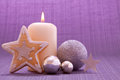 Advent Candle . Stock Photos