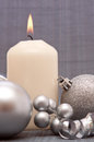 Advent Candle . Royalty Free Stock Images