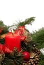 Advent wreath Stock Image