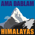 Adventure background mount ama dablam mother s necklace peak in the himalayas nepal mountain Royalty Free Stock Image