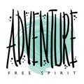 Adventure Free Spirit T-shirt Graphics Print Design