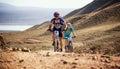Adventure mountain bike cross-country marathon Royalty Free Stock Photo