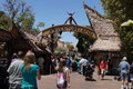 Adventureland at disneyland in california Royalty Free Stock Photo