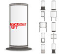 Advertise citylights set.