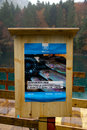 Advertising poster for trout fishing festival