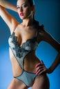 Advertising underwear Royalty Free Stock Photo