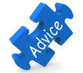 Advice Shows Support Help And Assistance Royalty Free Stock Images