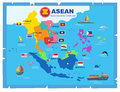 AEC asean economic community world map