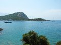 Aegean coastline landscape Royalty Free Stock Photo