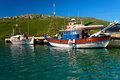 Aegean harbour Royalty Free Stock Photos