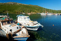 Aegean harbour Royalty Free Stock Photography