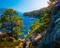 Aegean Sea coast Royalty Free Stock Photo