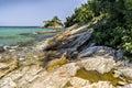 Aegean seashore Royalty Free Stock Photo