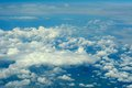 Aerial cloudscape. Royalty Free Stock Photo