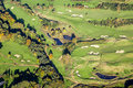 Aerial Golf Course Stock Images