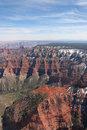 Aerial of the Grand Canyon Royalty Free Stock Photo