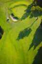 Aerial image of a golf course view stowe vermont usa Stock Photo