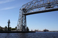 Aerial lift bridge - Duluth, MN Stock Image
