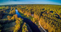 Aerial Lithuania Royalty Free Stock Photo