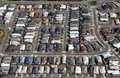 Aerial Modern Suburb Royalty Free Stock Images