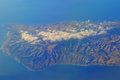 Aerial Of Pacific Ocean And Ca...