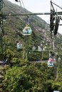 Aerial tramway Stock Photography
