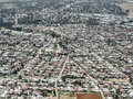 Aerial view of Addis Ababa Royalty Free Stock Photo