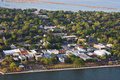 Aerial view of beaufort Stock Photography