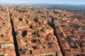 Aerial view of Bologna, Italy Stock Photography