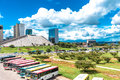 Aerial view of brasilia brazil Stock Images