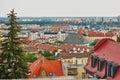 Aerial view of Bratislava