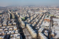 Aerial view from Bucharest Stock Photos