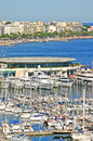 Aerial view of Cannes Royalty Free Stock Photo