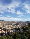 aerial view of the city of Guanajuato, Mexico