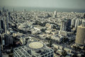 Aerial view of the City of Tel Aviv, Israel Royalty Free Stock Photo