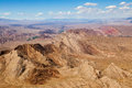Aerial view of the Colorado River area Royalty Free Stock Photo